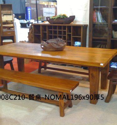 21-115餐桌-NOMAL196x90厚5