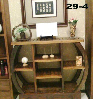 29-4圓型兩抽隔間櫃
