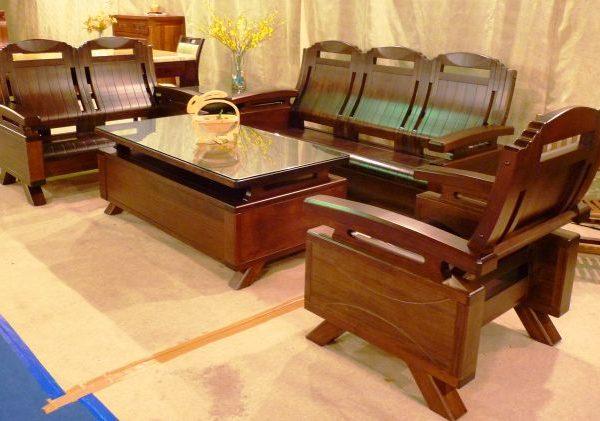 1026-油楠板椅