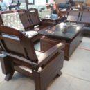 31025油楠板椅組(不含墊)1962