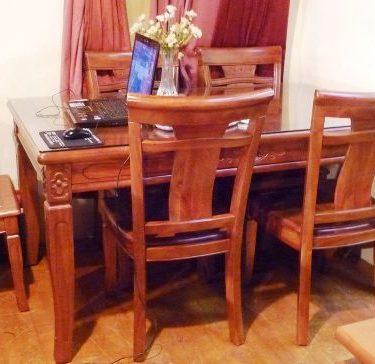 31103尊龍餐桌270 餐椅@54