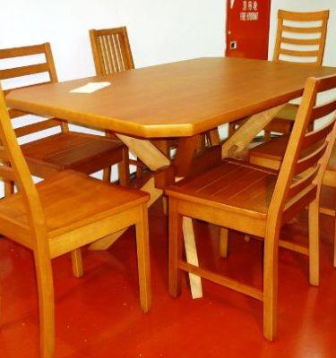 33021 ST85型x腳餐桌