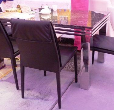 34024玉璽餐桌仙貝餐椅