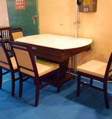 34030 020型雪花石餐桌255 2116型餐椅@31.5