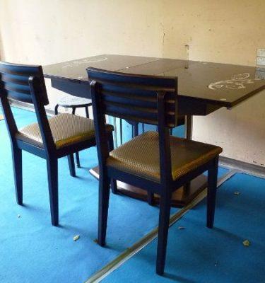 34030 036型拉桌255 2119型餐椅@31.5