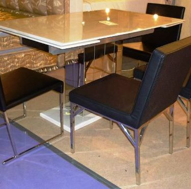 34053拉合餐桌+巴黎餐椅+貝斯餐椅