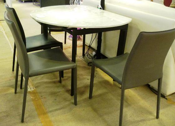 34053-6818圓拉桌270 0902餐椅@40.5