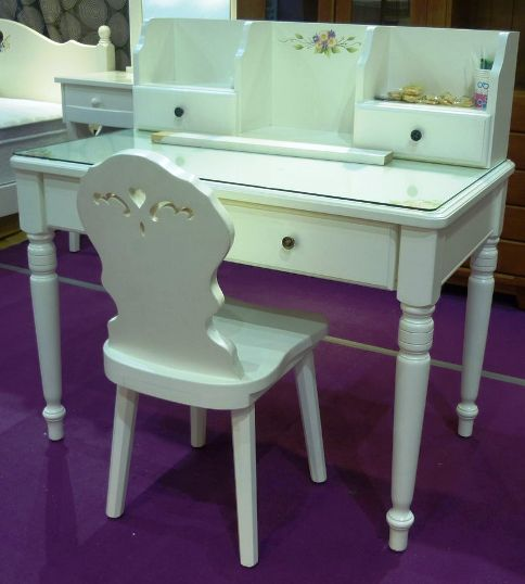 3SC065+SC065A+SC065-1 3.5尺書桌+書架285(不含椅)